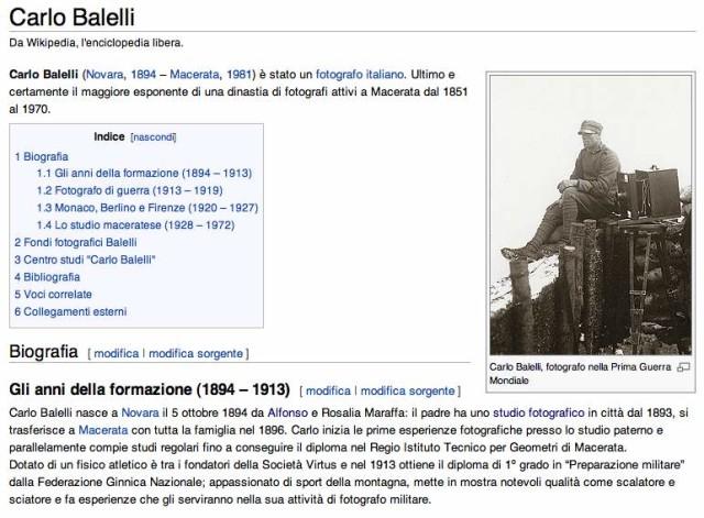 wiki carlo balelli